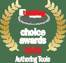 TMN-ChoiceAward-19-Authoring Tools Winner Badge_Light