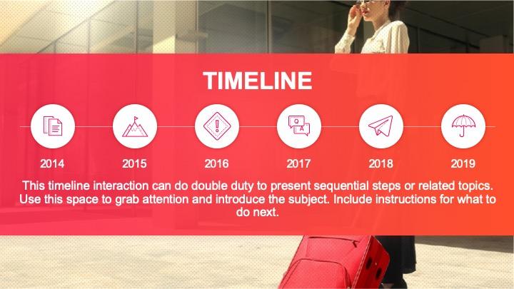 Fira Timeline - PowerPoint